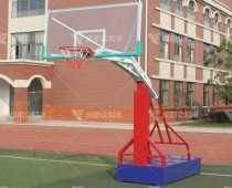 成都户外三色篮球架Q-19002