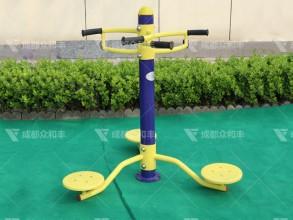 成都户外健身器材扭腰器Q-19014