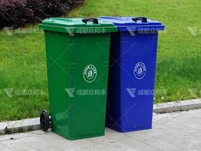 成都塑料环卫垃圾桶T-18185
