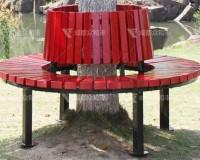 成都室外树围公园椅Y-18069