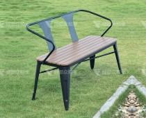 成都户外公园塑木休闲椅Y-18074