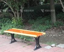成都户外实木休闲公园椅Y-18099