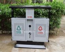 成都户外环卫分类垃圾桶T-18027