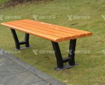 成都户外防腐木休闲椅Y-18098