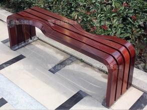 成都户外实木休闲公园椅Y-18084