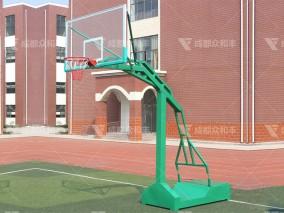 成都户外移动凹箱篮球架Q-19001