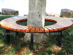 成都户外广场公园树围休闲椅Y-18068