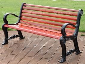 成都室外玻璃钢休闲长椅Y-18059