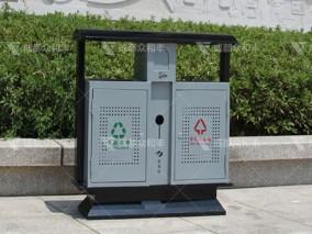 广元市采购户外分类环卫垃圾桶果皮箱