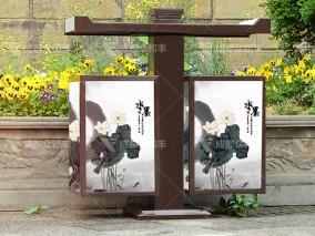 成都户外定制景区垃圾桶T-18024