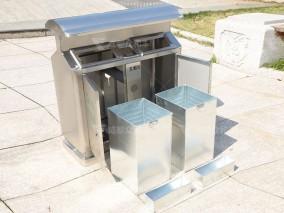 成都户外环卫垃圾桶厂家生产主意事项